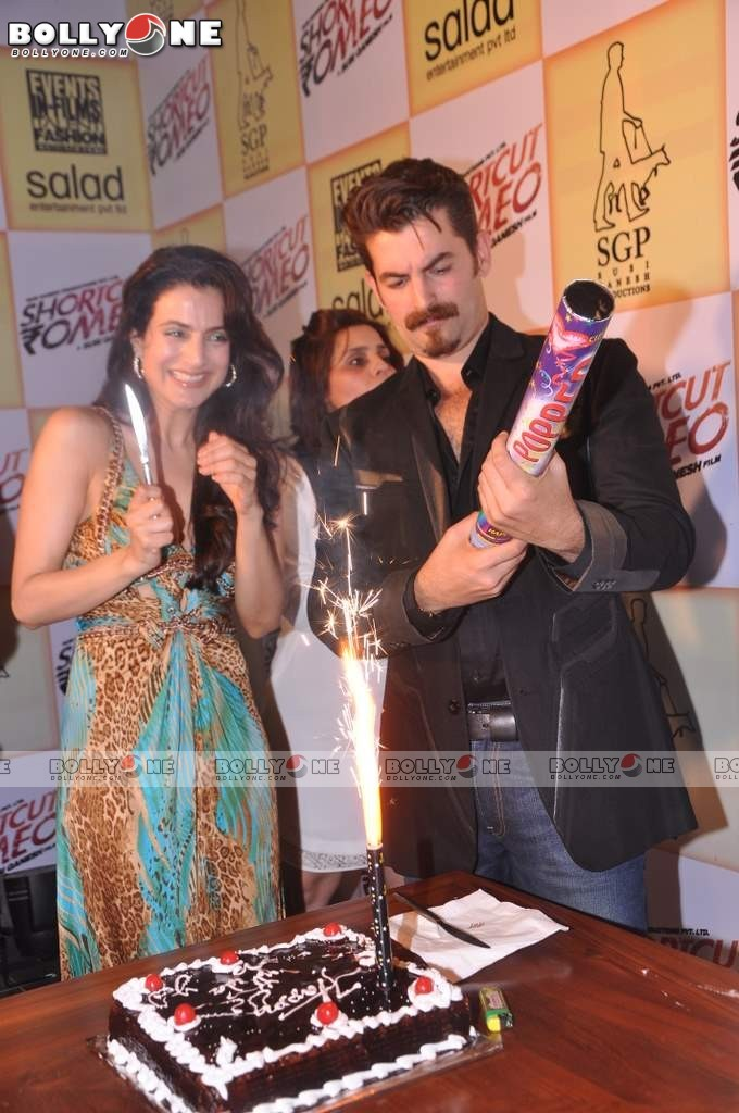 Ameesha Patel at Birthday Bash and Shortcut Romeo Promotions Abq1Z2vE