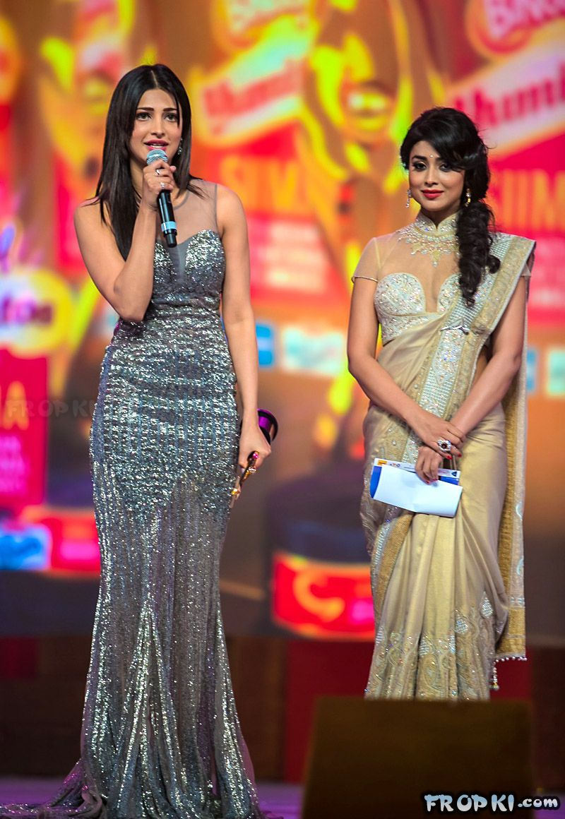Shruti Haasan win top laurels at SIIMA awards AbsyvWeC