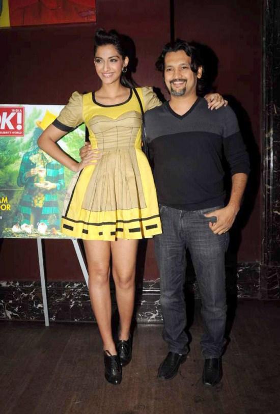 Sonam Kapoor at OK! magazine's cover launch AbzKIRDD