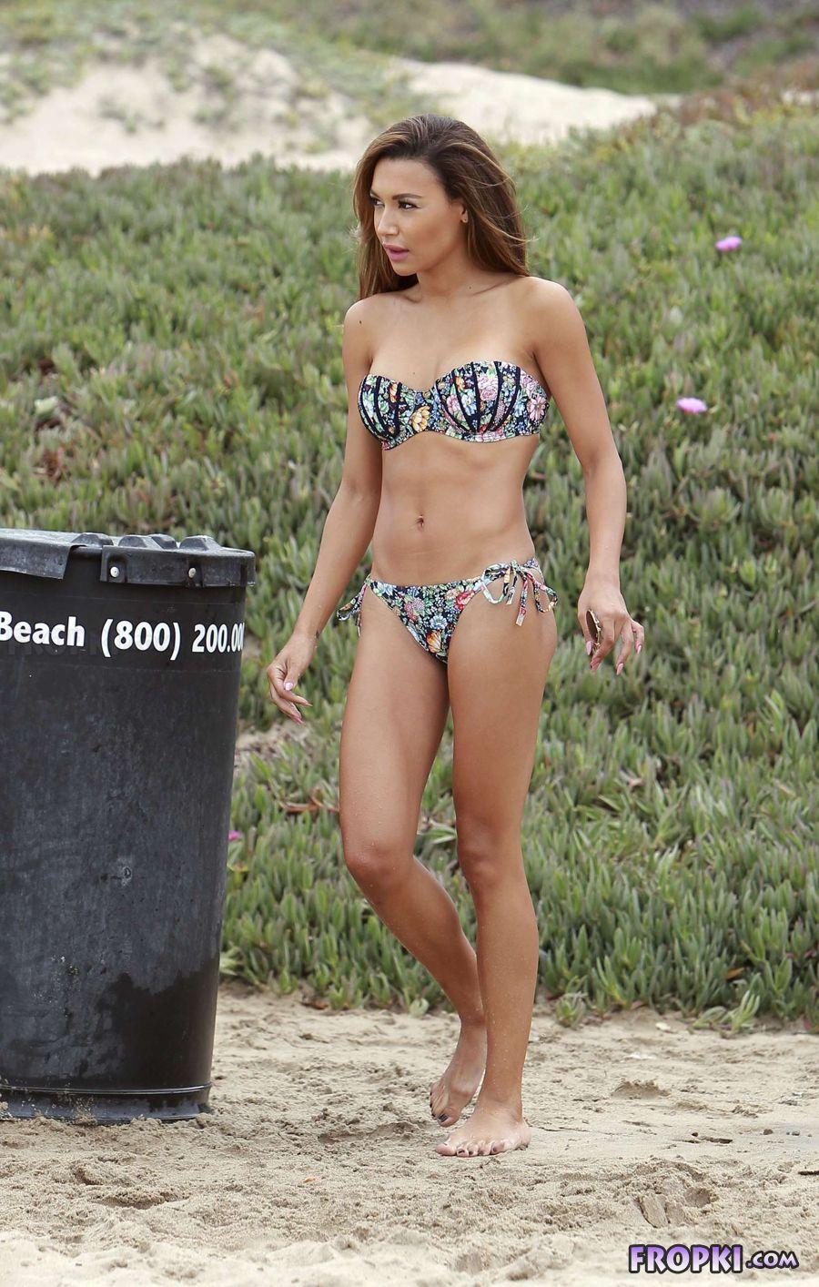 Naya Rivera - Wearing a bikini at a beach in Malibu AcufUXub
