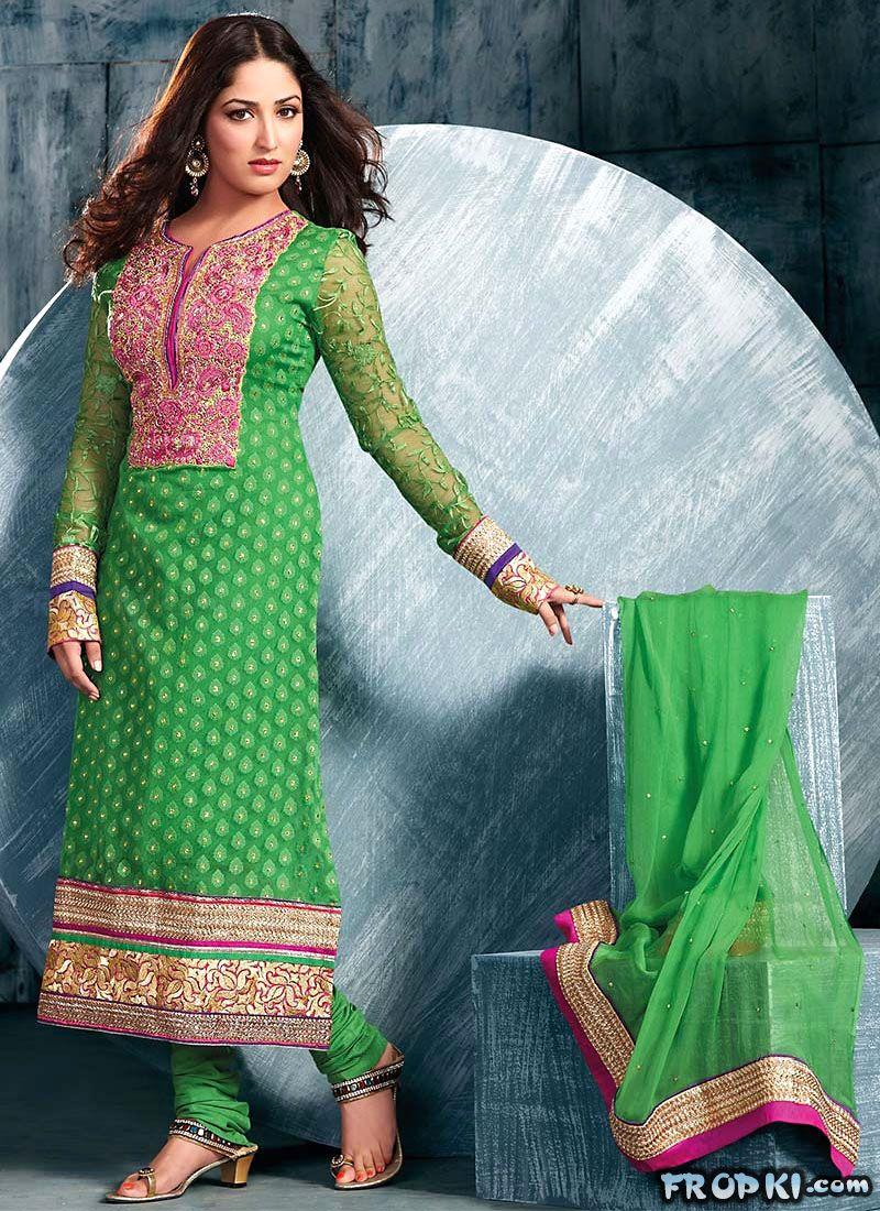 Yami Gautam Churidar Modeling Ad Acy1kjvk