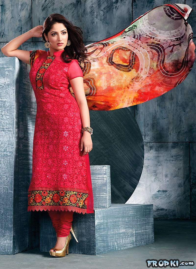 Yami Gautam Churidar Modeling Ad AdcoeLvq