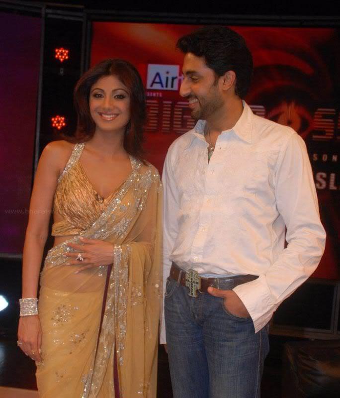 Shilpa Shetty's Sexy Curves in Transparent saree Adv1ywNc