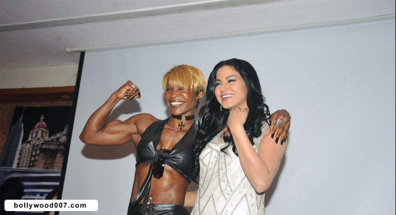 Veena Malik Promoting Film City that Never Sleeps AdvGQhcF