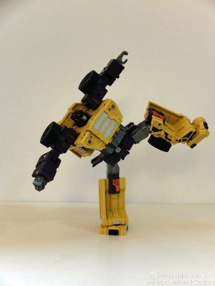 [Toyworld] Produit Tiers - Jouet TW-C Constructor aka Devastator/Dévastateur (Version vert G1 et jaune G2) - Page 8 ESwWKgVS