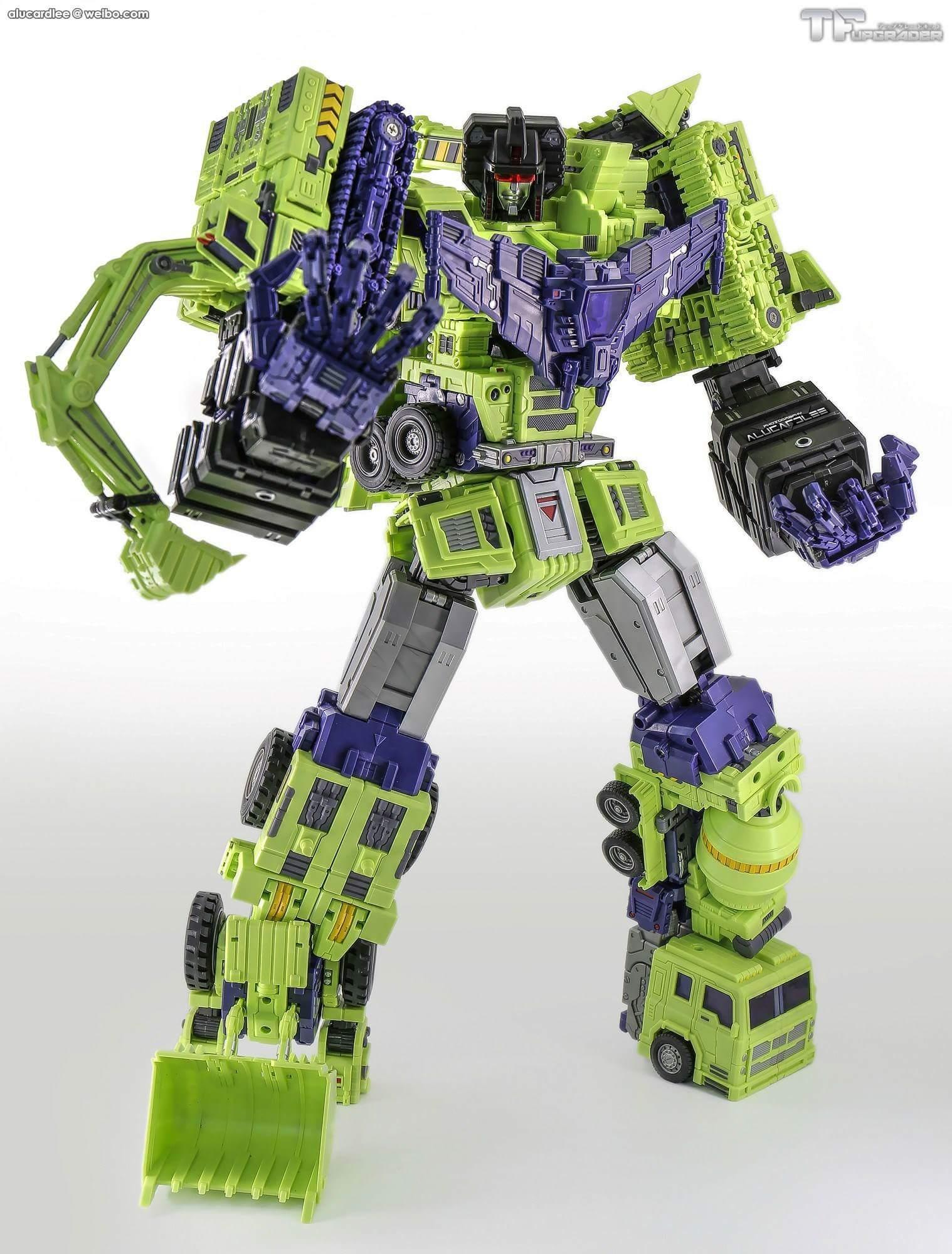 [Toyworld] Produit Tiers - Jouet TW-C Constructor aka Devastator/Dévastateur (Version vert G1 et jaune G2) - Page 4 ErTdBHIx