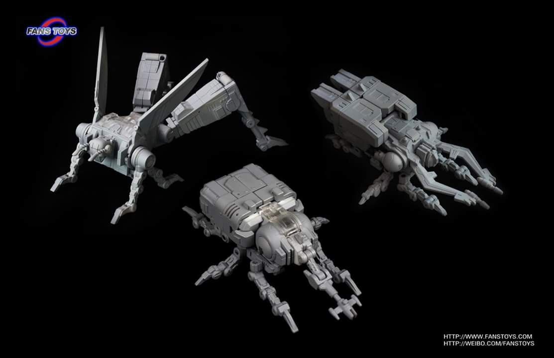 [Fanstoys] Produit Tiers - Jouet FT-12 Grenadier / FT-13 Mercenary / FT-14 Forager - aka Insecticons GHGCgSgX