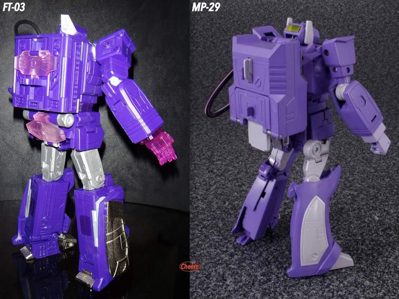 [Masterpiece] MP-29 Shockwave/Onde de Choc IguxXEnt