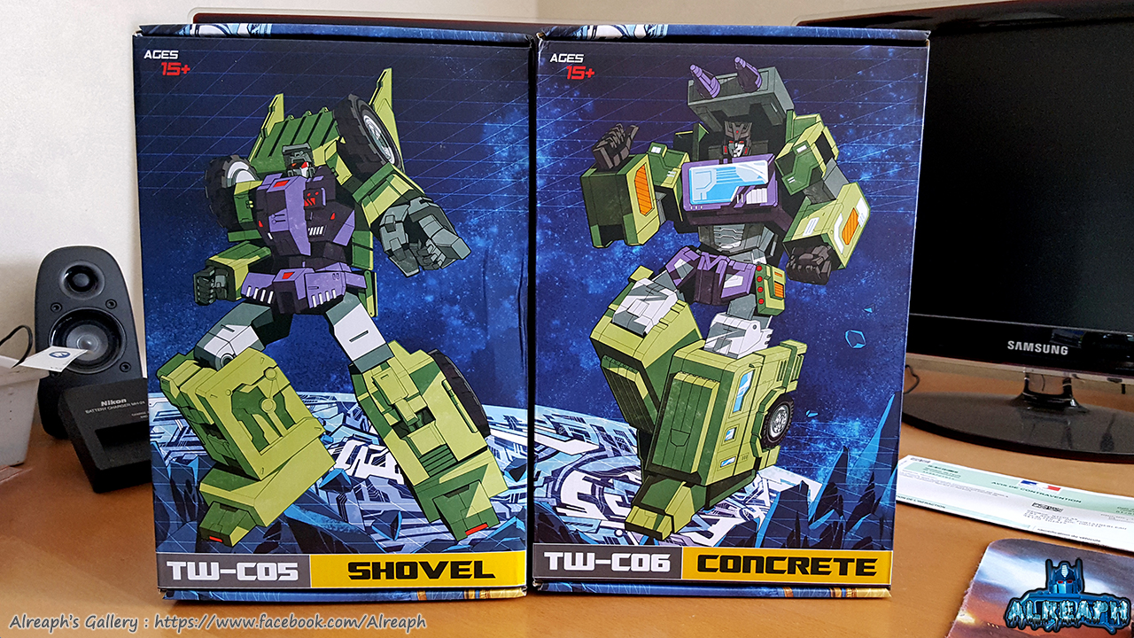 [Toyworld] Produit Tiers - Jouet TW-C Constructor aka Devastator/Dévastateur (Version vert G1 et jaune G2) - Page 6 JxNMZSJR