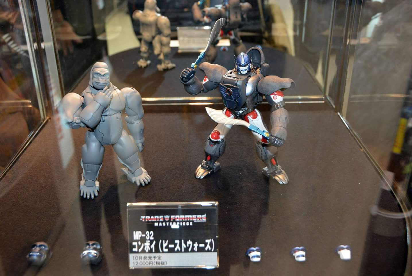 [Masterpiece] MP-32, MP-38 Optimus Primal et MP-38+ Burning Convoy (Beast Wars) - Page 2 KfXnqMcy