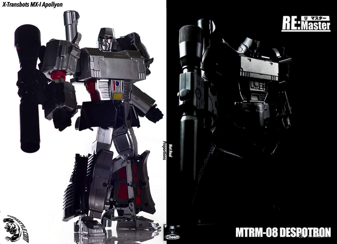 [Masterpiece Tiers] MAKETOYS MTRM-08 DESPOTRON aka MEGATRON - Sortie ??? MB1GiTGS