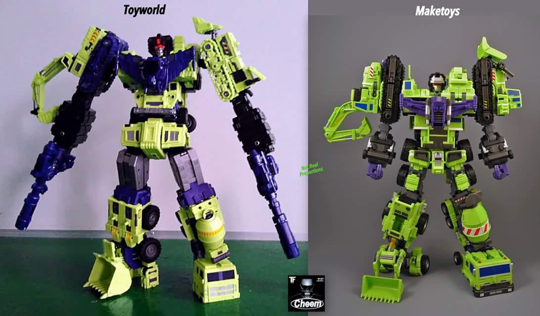 [Toyworld] Produit Tiers - Jouet TW-C Constructor aka Devastator/Dévastateur (Version vert G1 et jaune G2) - Page 4 MEKVRJZA