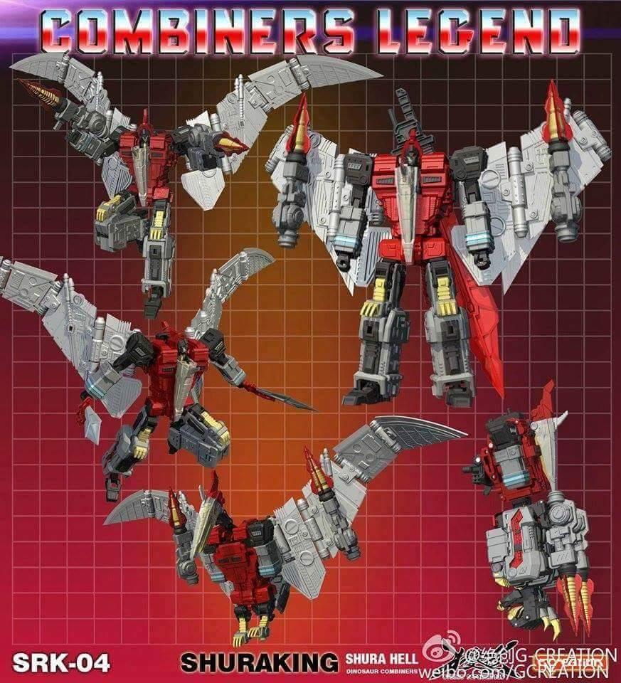 [GCreation] Produit Tiers - Jouet ShuraKing - aka Combiner Dinobots - Page 2 PS2LbuFK