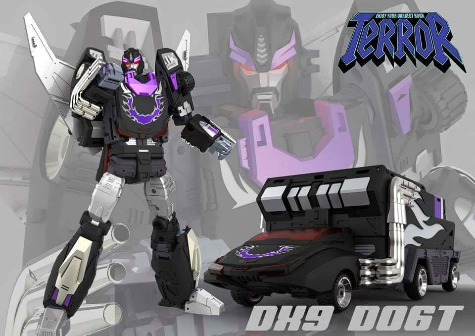 [DX9 Toys] Produit Tiers - Jouet D-06 Carry aka Rodimus et D-06T Terror aka Black Rodimus - Page 2 PVWhJL1H
