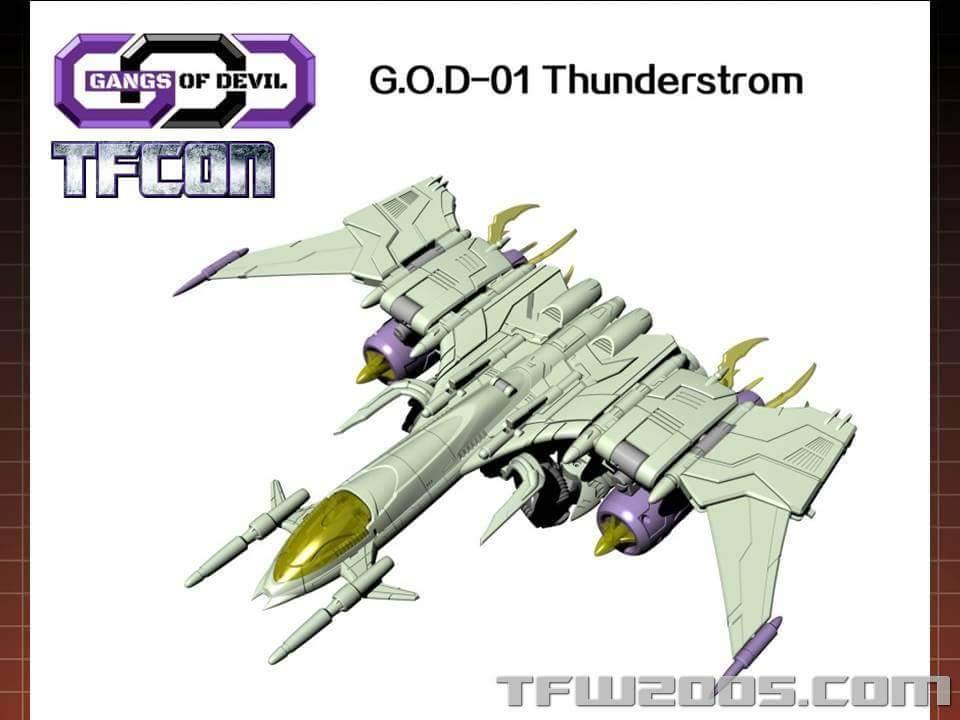 [Garatron] Produit Tiers - Gand of Devils G.O.D-01 Thunderstorm - aka Thunderwing des BD TF d'IDW S6QbV3be