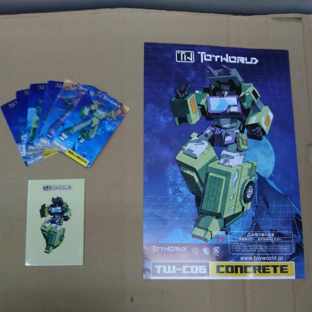 [Toyworld] Produit Tiers - Jouet TW-C Constructor aka Devastator/Dévastateur (Version vert G1 et jaune G2) - Page 3 TuwupLzW