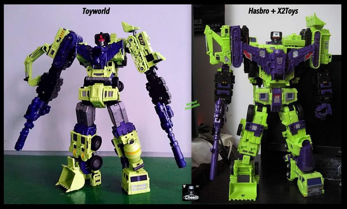 [Toyworld] Produit Tiers - Jouet TW-C Constructor aka Devastator/Dévastateur (Version vert G1 et jaune G2) - Page 4 TxwGsrxz