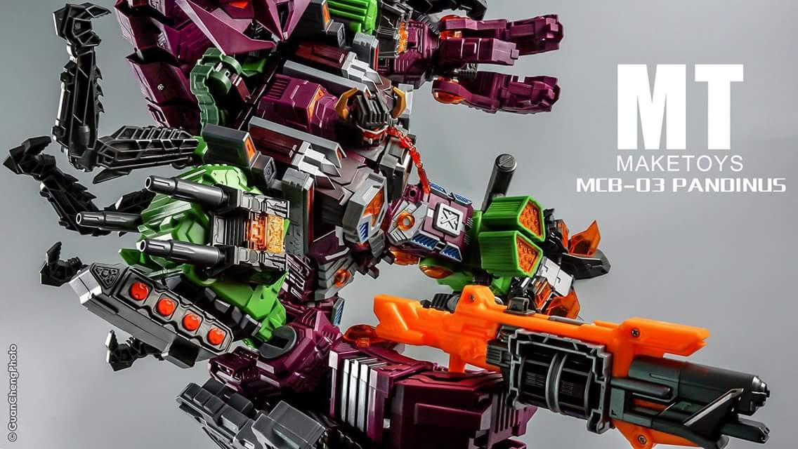 [Maketoys] Produit Tiers - Jouet MCB-03 Pandinus - aka Scorponok et MCB-03D Devil Stinger - aka Black Zarak U2r40NIF