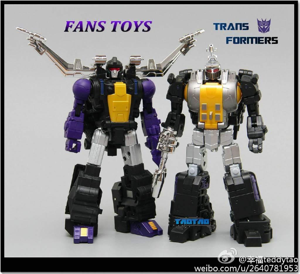 [Fanstoys] Produit Tiers - Jouet FT-12 Grenadier / FT-13 Mercenary / FT-14 Forager - aka Insecticons - Page 2 VxrlrrWv