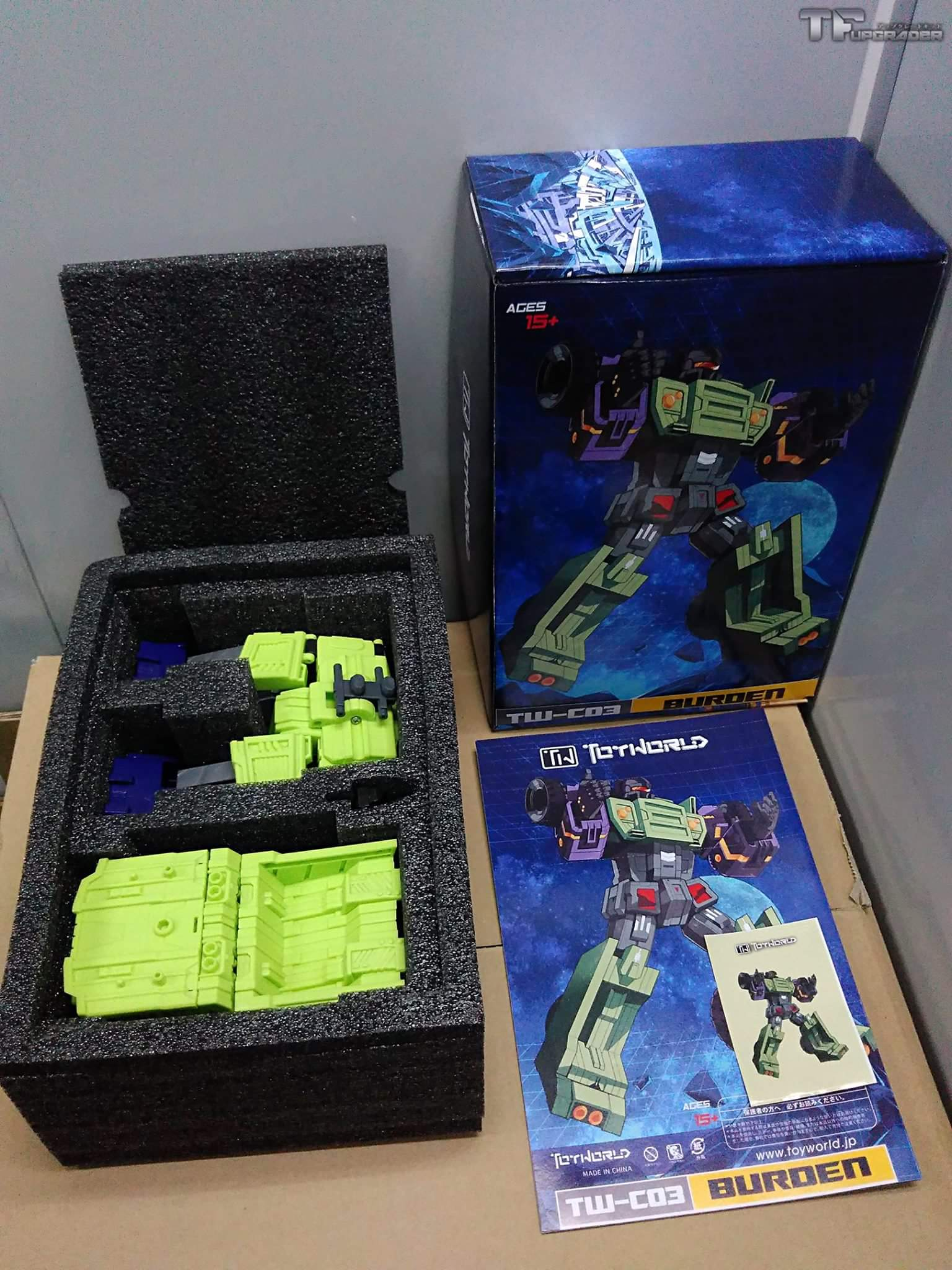 [Toyworld] Produit Tiers - Jouet TW-C Constructor aka Devastator/Dévastateur (Version vert G1 et jaune G2) - Page 4 ZB13h8nc