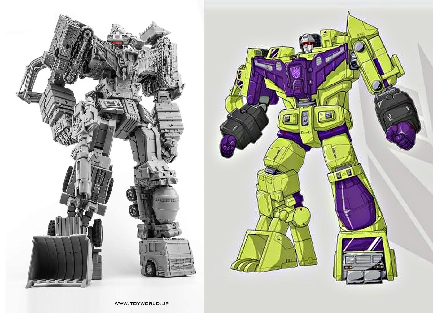 [Toyworld] Produit Tiers - Jouet TW-C Constructor aka Devastator/Dévastateur (Version vert G1 et jaune G2) - Page 2 ZLKHdHqO
