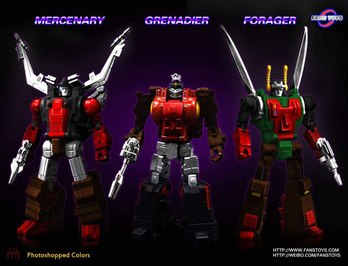 [Fanstoys] Produit Tiers - Jouet FT-12 Grenadier / FT-13 Mercenary / FT-14 Forager - aka Insecticons - Page 2 ZWkh04pi