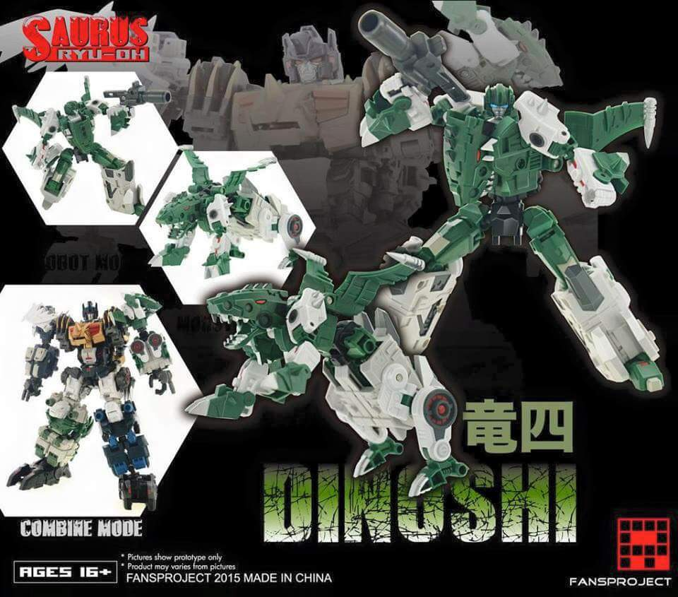 [FansProject] Produit Tiers - Jouet Saurus Ryu-oh aka Dinoking (Victory) | Monstructor (USA) ZhjL5Une