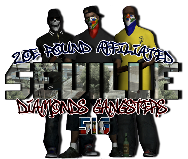 516 Seville Diamonds Gangsters - Zoe Pound Affiliated