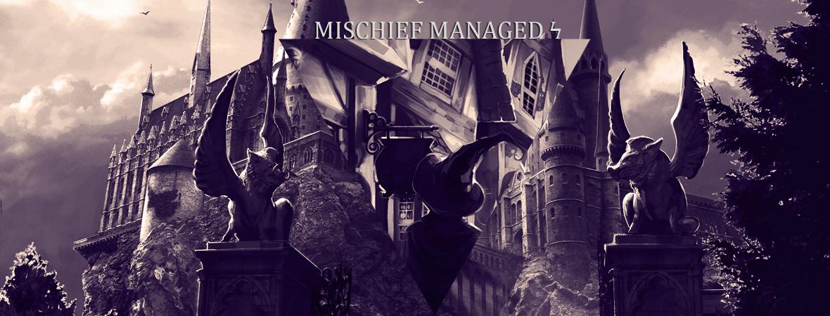 Mischief Managed ϟ ScsOJUe