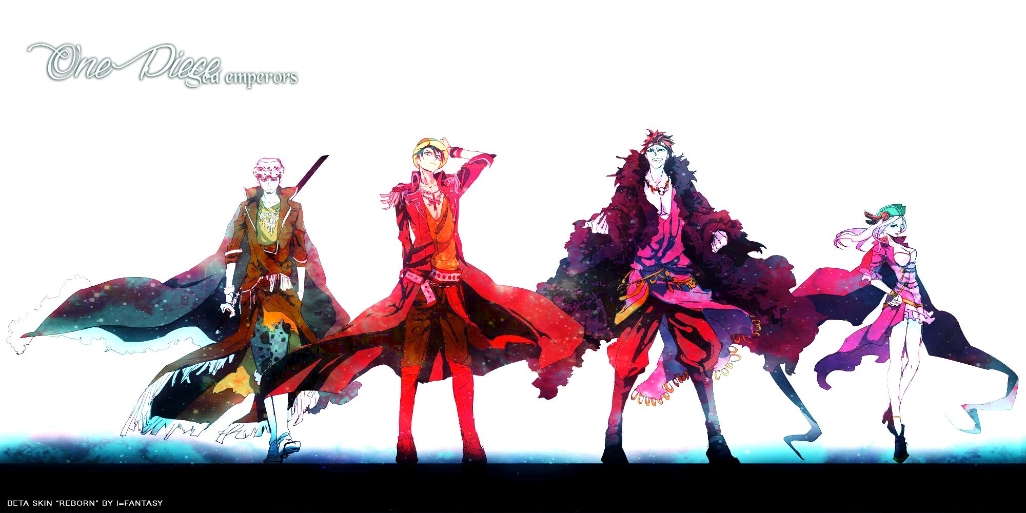One Piece Sea Emperors