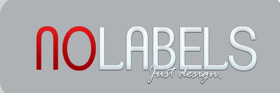No Labels. Just design.