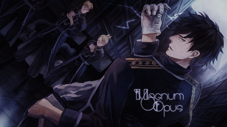 Magnum Opus - Fullmetal alchemist pbf