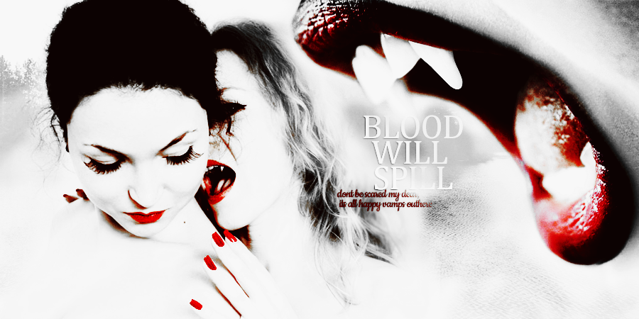 Blood will spill