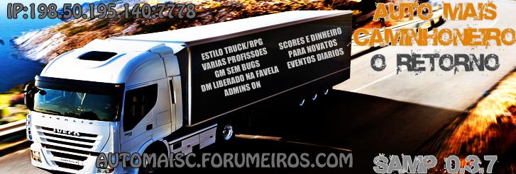 Auto Mais Caminhoneiro SA-MP 0.3.7