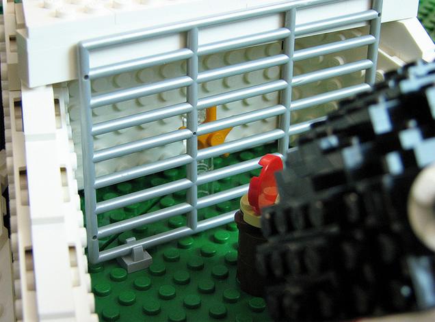 El primer nivel de Super Mario 64 hecho en Lego 856152648039229076