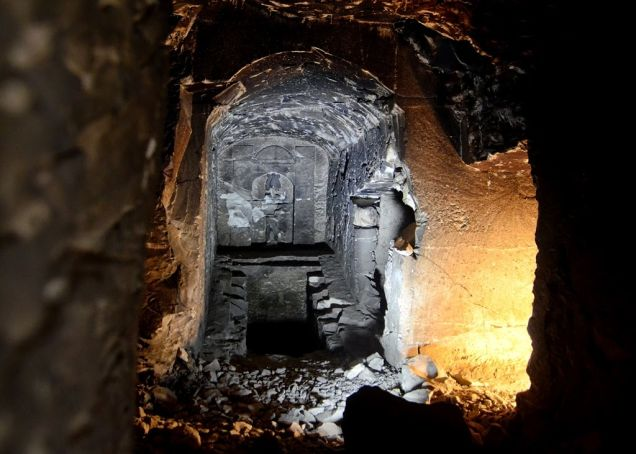 Arqueólogos encuentran una tumba dedicada al Dios egipcio de la muerte Ewqilb24gshkhaur4x8a