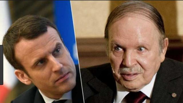 Actualités Algeriennes - Page 38 Bouteflika-macron