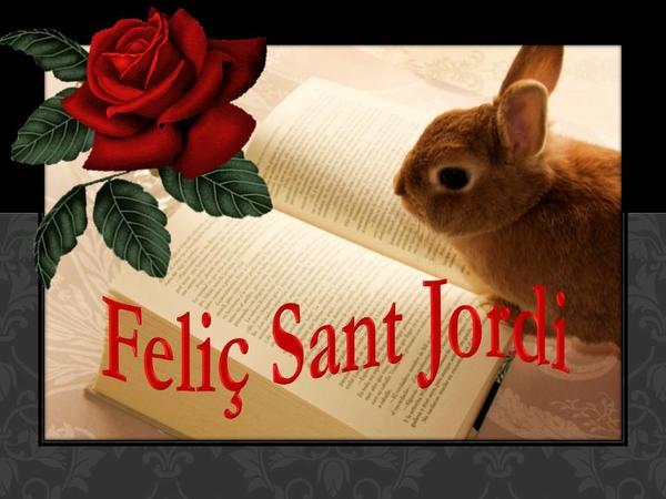 Feliç Diada de Sant Jordi!! Día del libro y de los enamorados!  22a95dd00f7d2303369e9baa680c399a