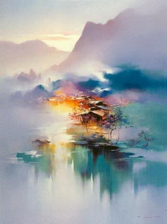 Phong cảnh & Hội Họa 550_736_1