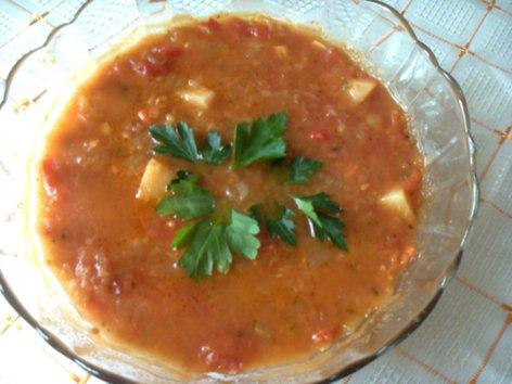 Суп с красной чечевицей, говядиной и помидорами Foto0088_500