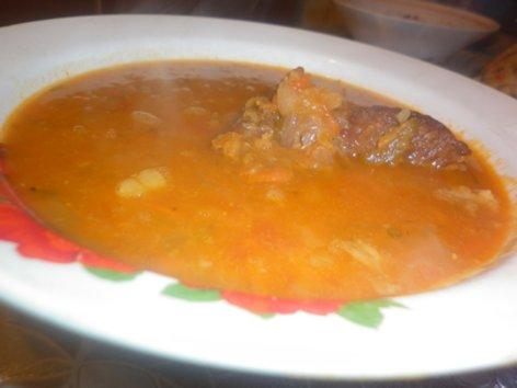 Суп с красной чечевицей, говядиной и помидорами P1030459_500