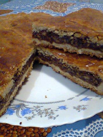 Энгадинский ореховый торт Foto0564_500