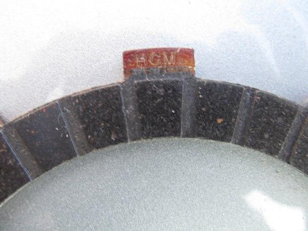 Фрикционный диск (пара) (Zongshen zs250gs) 002