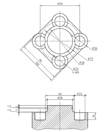 Ходовая часть Zongshen ZS200GY-3 - Страница 4 Planshaiba_Model_500
