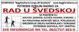 Potrebni ozbiljni radnici za rad u Švedskoj KK6Jv