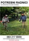 Potrebni radnici na održavanju zelenih površina Yyy4z