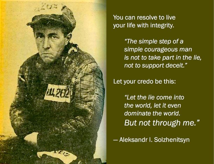 Đừng lấy dối trá làm lẽ sống - Aleksandr Solzhenitsyn 0436b500c5273c7490b7b0ce1bfb0b1a