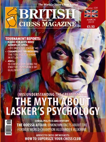 CHESS PERIODICALS :: British Chess Magazine Bcm-2019-03