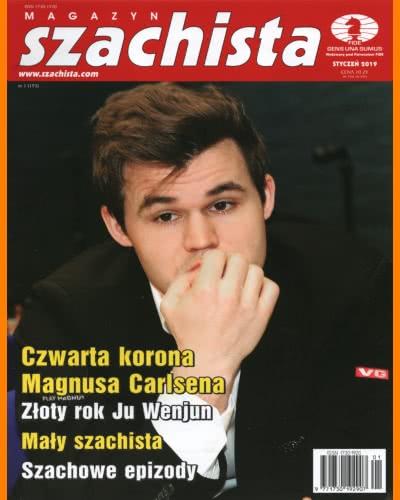 CHESS PERIODICALS :: Magazyn SZACHISTA (Polish Chess Monthly Magazine) Ms-2019-01