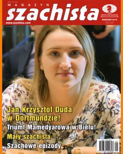 CHESS PERIODICALS :: Magazyn SZACHISTA (Polish Chess Monthly Magazine) Ms_2018-09